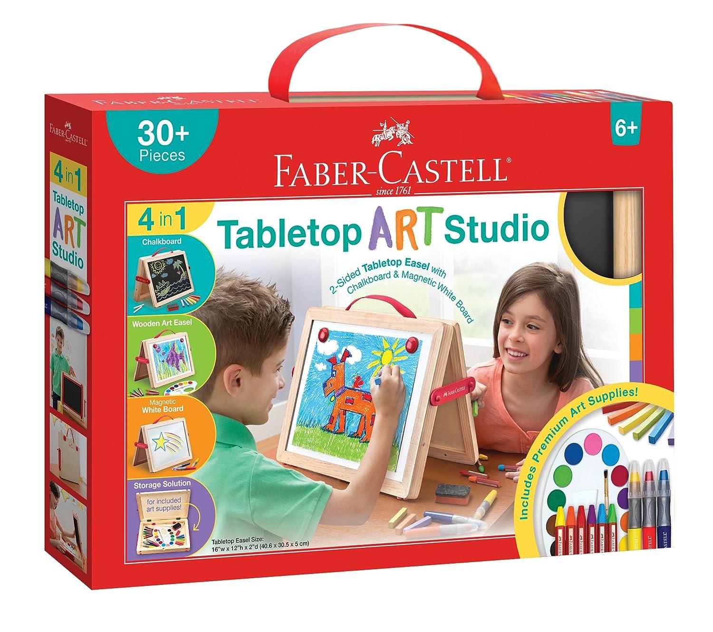 Faber-Castell Young Artist Essentials Gift Set - 64-Piece Premium Quality Art Set for Kids Faber Castell FC14528