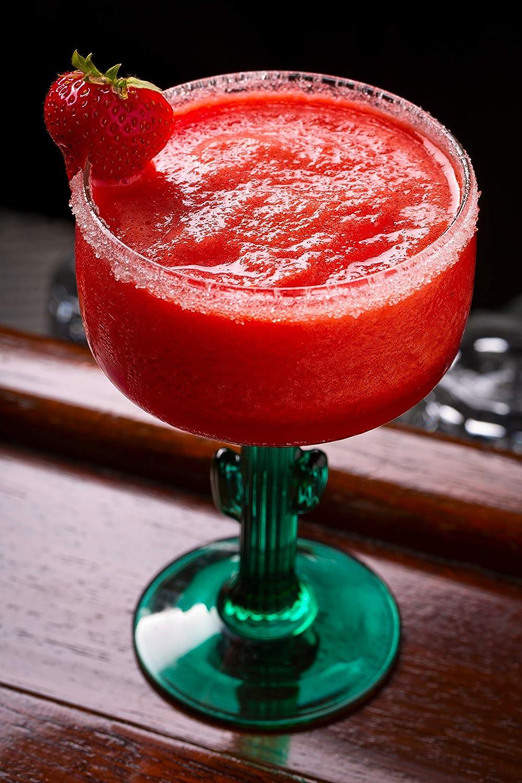 Libbey Cactus Margarita Glasses, Set of 4 (12 oz)