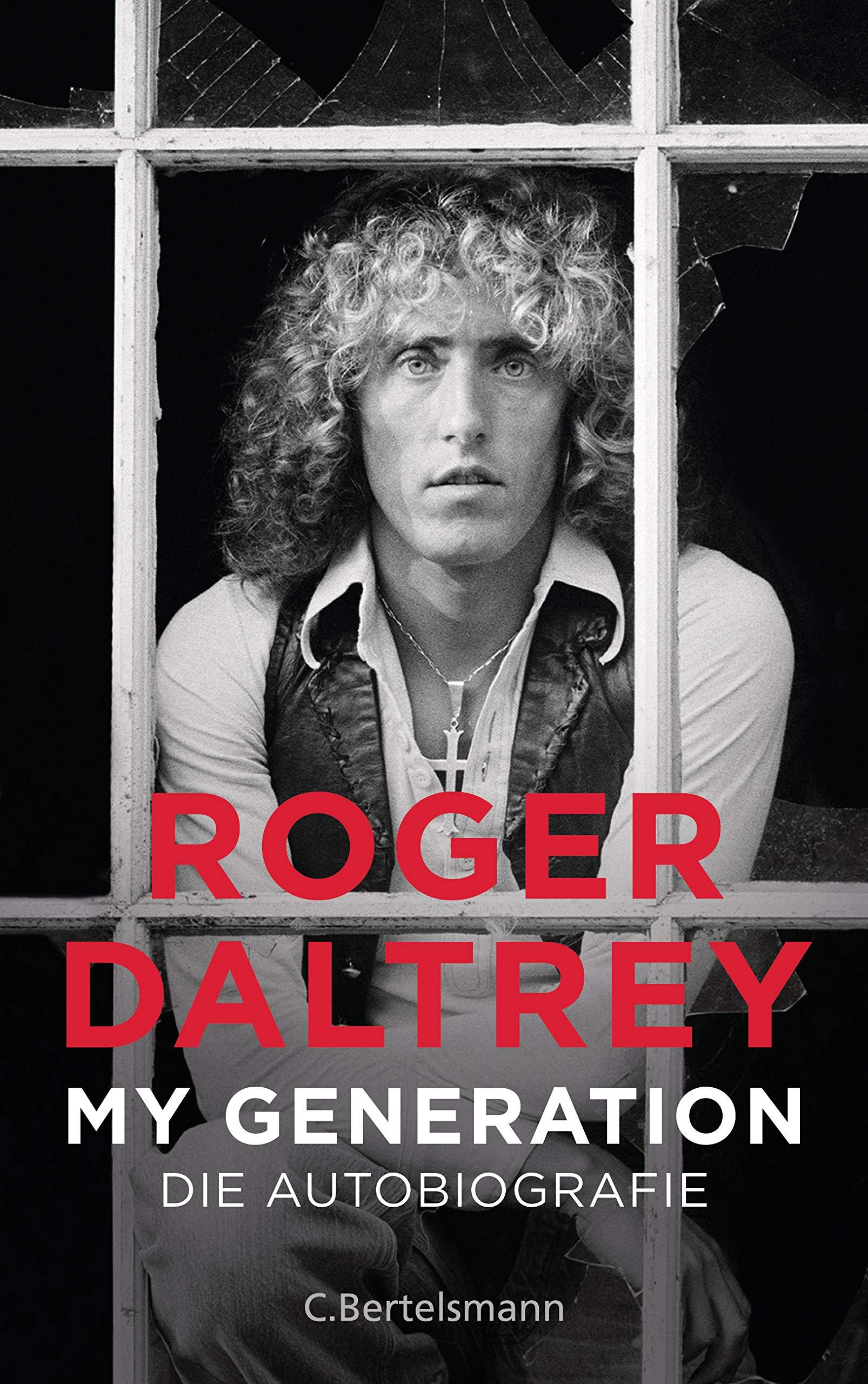 Bildergebnis für fotos vom buch Biografie von Roger Daltrey: My Generation
