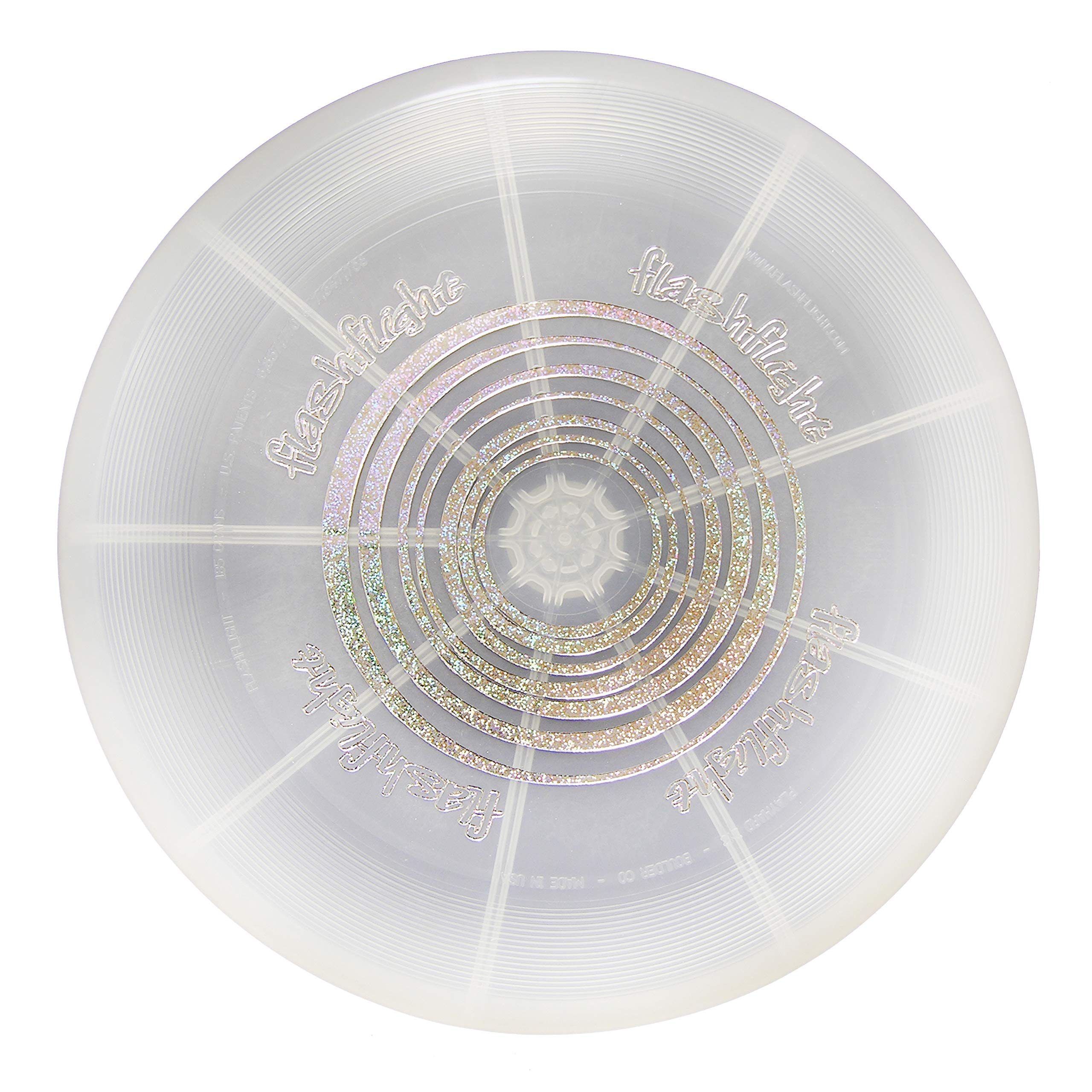 Nite Ize Flashflight LED Flying Disc, Light up the Dark for Night Games, 185g,  Disc-O by Nite Ize