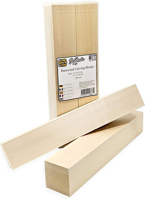 5 Stück Basswood Wood Carving Blocks Kit Holz Blöcke Soft Wood Für Handwerk DIY