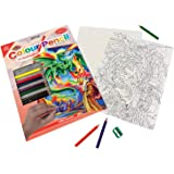 Royal & Langnickel Colour Pencil by Numbers Sorcerer Designed Painting Set