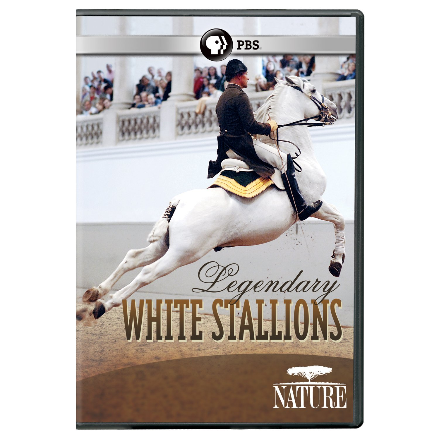 Nature: Legendary White Stallions