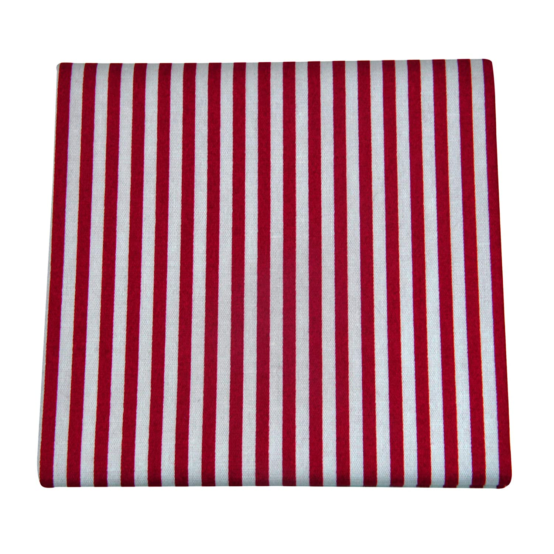 ultiMade Design Streifen wei/ß rot trendige Stofftaschent/ücher Herren Baumwolle Damen Stofftaschentuch Einsteckt/ücher Einstecktuch