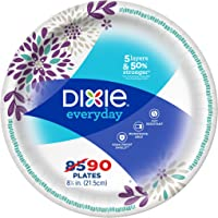 Dixie Everyday Paper Plates 8 1/2 inch 90 Count Lunch or  sc 1 st  Amazon.com & Amazon Best Sellers: Best Disposable Plates Bowls \u0026 Cutlery