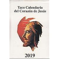 Calendario Taco Pared (Imán) Sagrado Corazón 2019