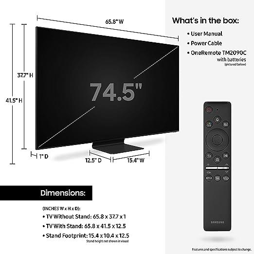 Samsung QLED 8K UHD Smart TV con Alexa Integrado: Amazon.es: Electrónica