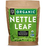 Organic Nettle Leaf | Herbal Tea (200+ Cups) | Cut & Sifted | 16oz Resealable Kraft Bag | 100% Raw From Bulgaria | by FGO