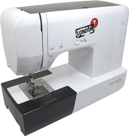 Bernina Bernette Londres 7 – Máquina de coser: Amazon.es: Hogar