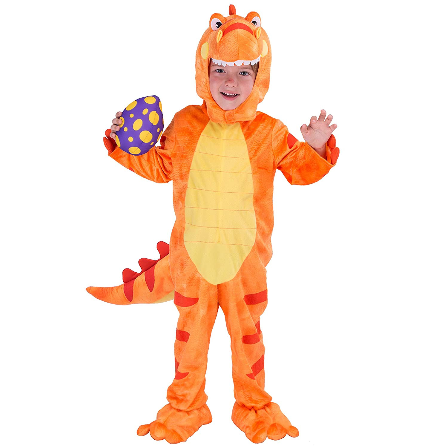 Spooktacular Creations T-Rex Deluxe Kids Dinosaur Costume for Halloween Child Dinosaur Dress Up Party, Role Play and Cosplay Joyin Inc