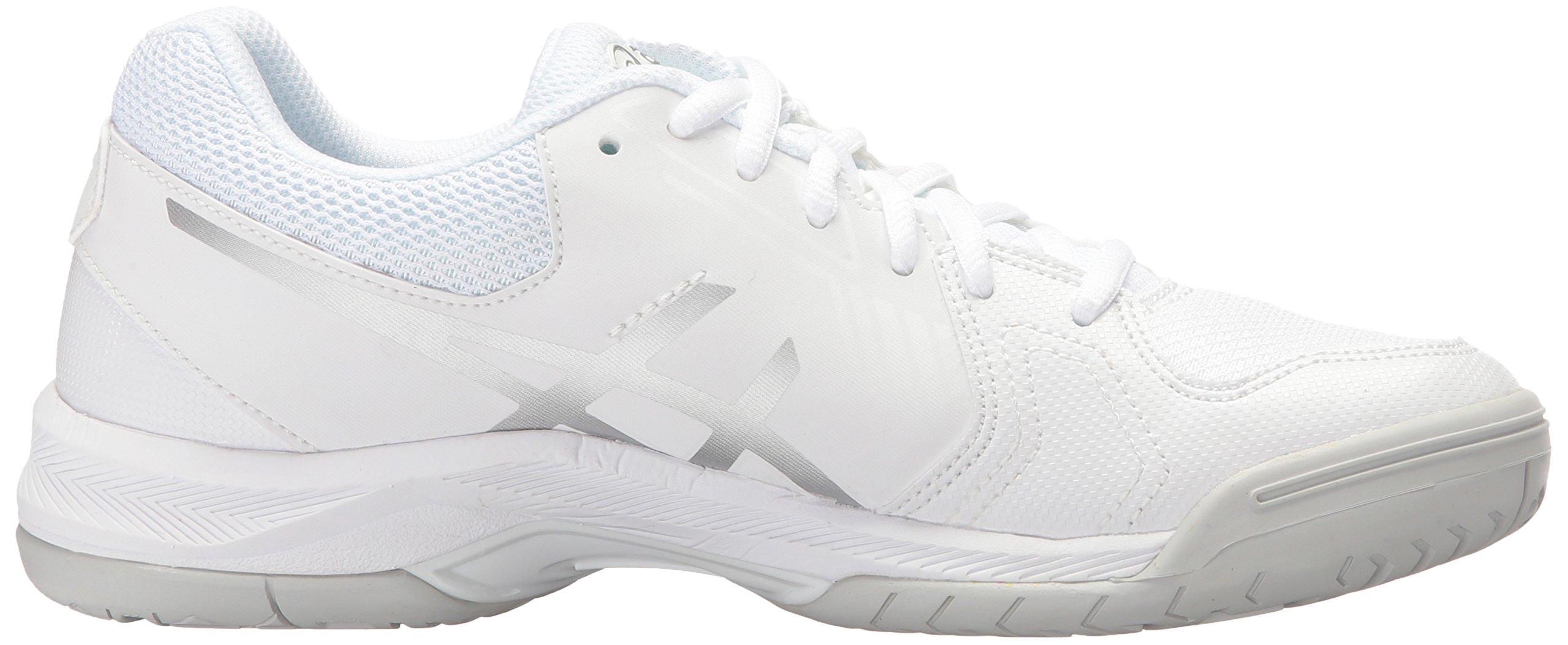 ASICS Women's Gel-Dedicate 5 Tennis Shoe White/Silver 5.5 M US by ASICS (Image #7)