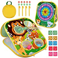 Cute Alien Been Bag Toss Games Party Supplies Been Bag Toss Games Party Games for Kids and Adults Outer Space Alien Theme Party Classroom Game Family Games Kids/' Birthday Party Baby Shower