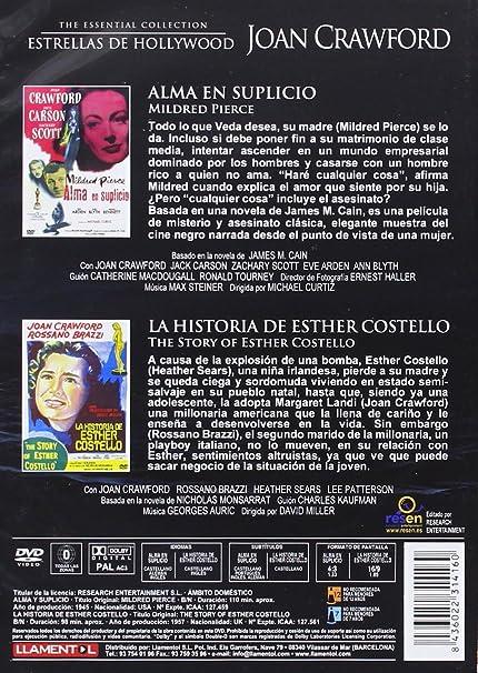 Joan Crawford - Estrellas De Hollywood [DVD]: Amazon.es: Fay ...