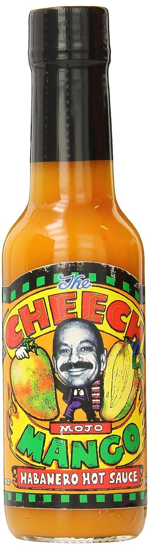 Cheech Mojo Habanero Hot Sauce, Mango, 5 Ounce