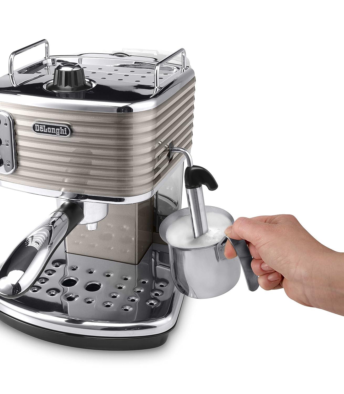 Einkreiser-Espresso Siebträgermaschine DeLonghi ECZ 351.BG Scultura