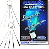11Pc Mini Airbrush Cleaning Brush Set Kit with 5 Brushes, 5 Cleaning Pokers & Our FREE How-To Airbrush Booklet