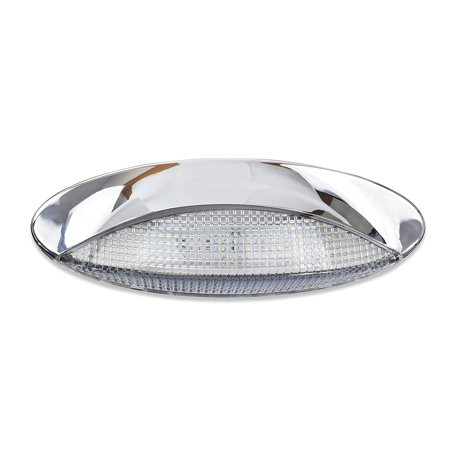 Amazon.com: Leisure - Luz LED para porche exterior RV Euro ...