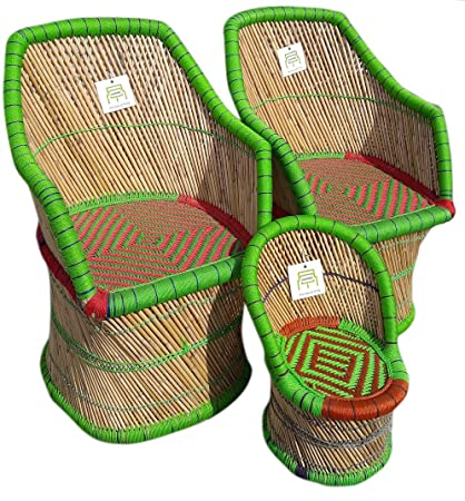 Ecowoodies HandiCraft Cane Furniture Set