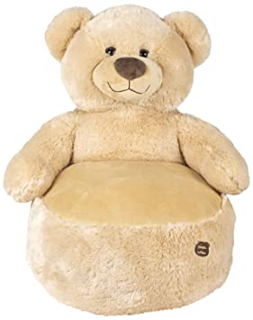 Famosa Softies - Asiento de Peluche Oso Boutique, Color marrón (Famosa 760014890)