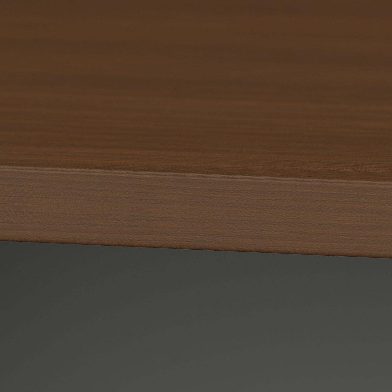 Amazon.com: Bush Business Furniture Series A & C 82W x 35D Racetrack ...