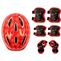Krazy Fitness 4 in 1 Multiple-Sports Protective Gears Kit (Small, Colour May Vary)