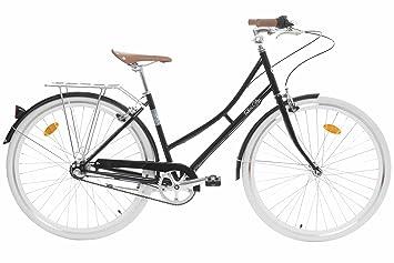 Fabric City Bicicleta de Paseo- Bicicleta de Mujer 28
