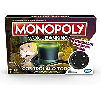 Hasbro Gaming Monopoly Voice Banking - Juego de Mesa electrónico Board Game