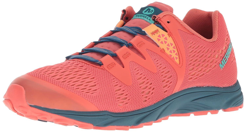 Merrell Women's Riveter E-Mesh Sneaker B072M2W1KZ 9 B(M) US|Hot Coral
