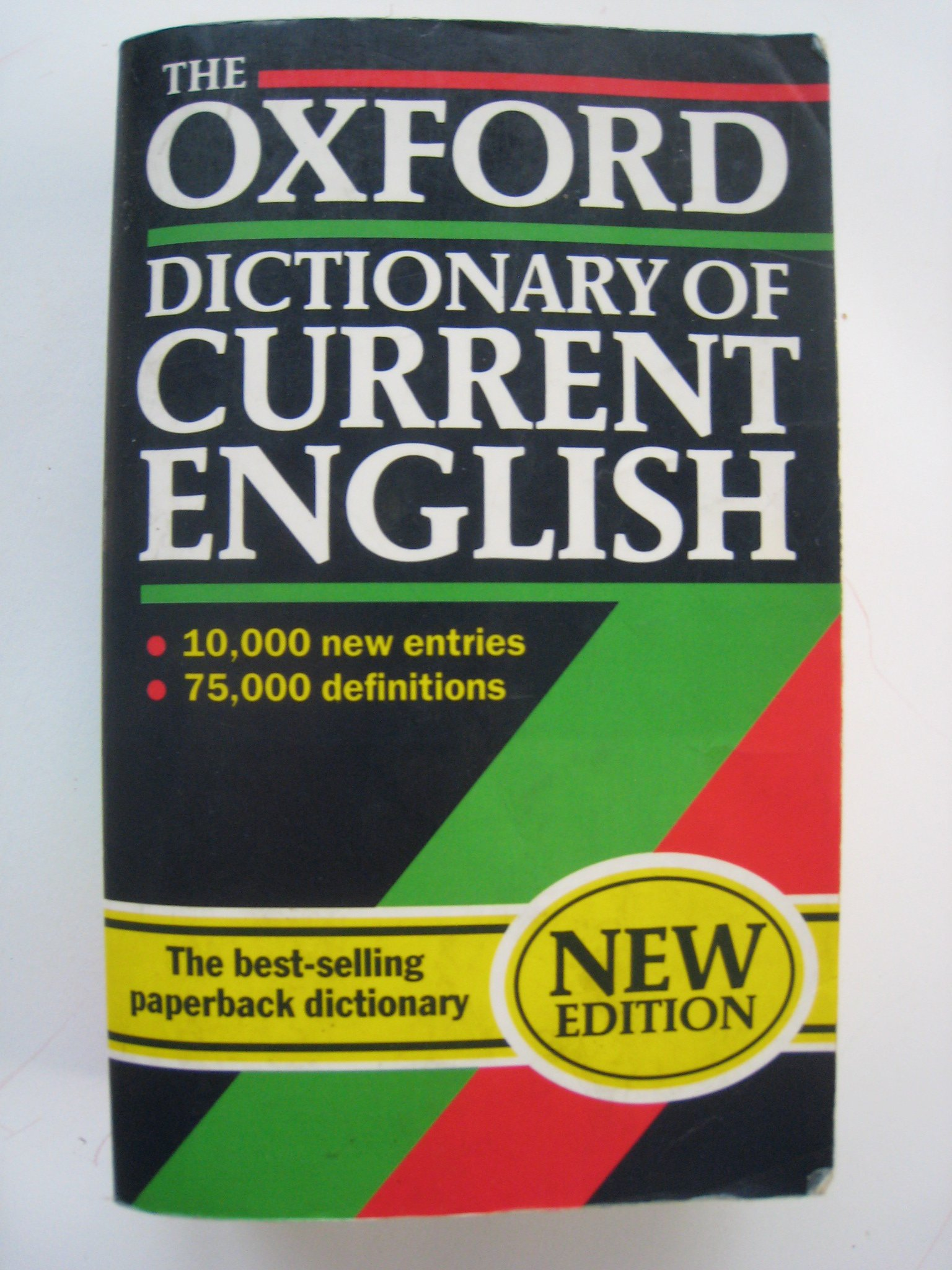 The Oxford Dictionary of Current English (Oxford Reference S.)