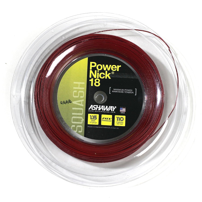 Ashaway PowerNick 18 Squash String - 110m Reel