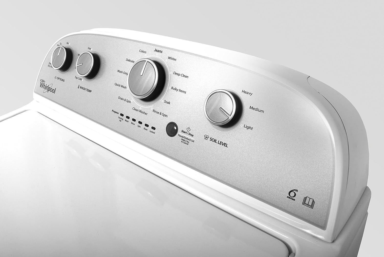Whirlpool profi toplader 15kg gewerbe waschmaschine weiss: amazon.de