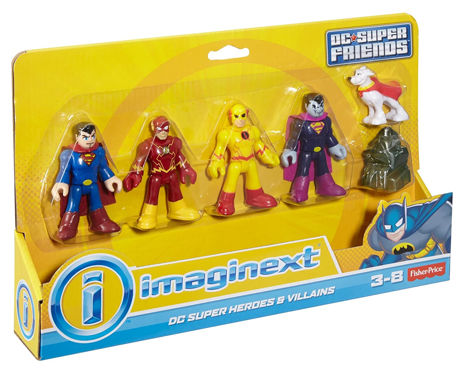 Import CMX23 Fisher-Price DC Super Friends Imaginext Heroes /& Villains Action Figure Fisher Price