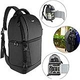 Neewer Kameraväska med sele – kamerafodral med vadderade avdelare för DSLR och spegelfria kameror (Nikon, Canon, Sony…