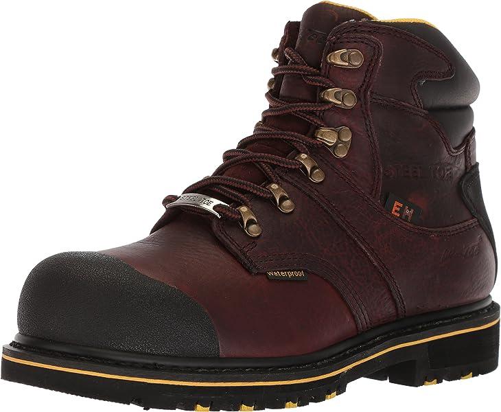 be2a45afc2a Amazon.com   AdTec Men's 9722 Ankle Boot, Dark Brown, 7.5 Medium US ...