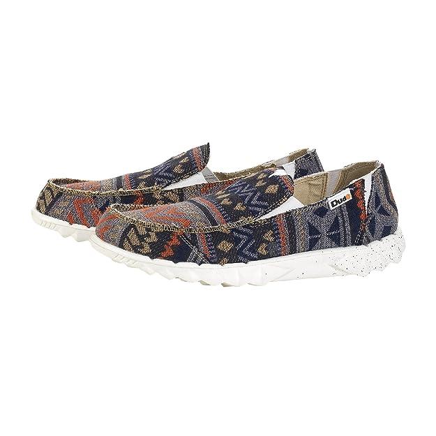 Dude Shoes Men's Farty Incas Etno Orange Slip On / Mule UK9 / EU43 AGblrSbpzN