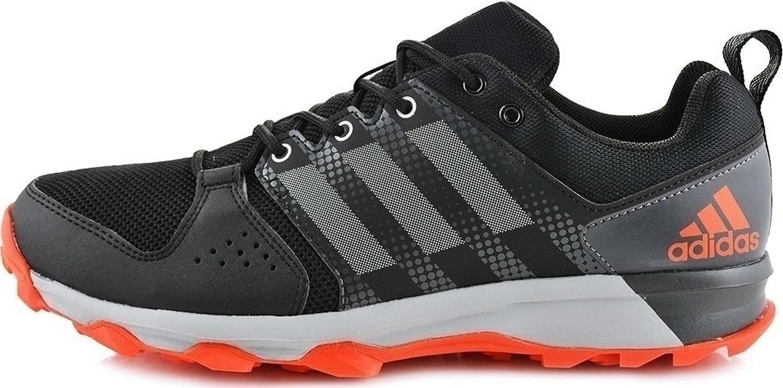 adidas Men's Galaxy M Trail Runner B07457F486 9.5 D(M) US|Core Black/Grey Two/Energy