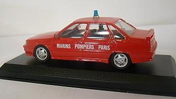 Renault 21 Turbo Pompiers Marins Paris 1/43 DUVI