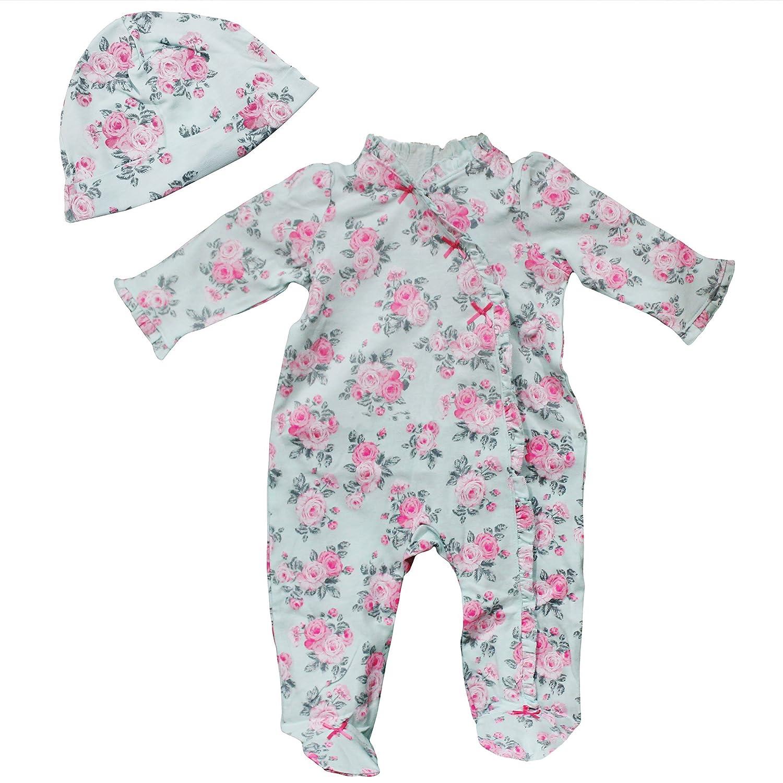 Little Me Girls' Footie Little Me Girls' Footie Little Me Baby LBQ00451N-Parent