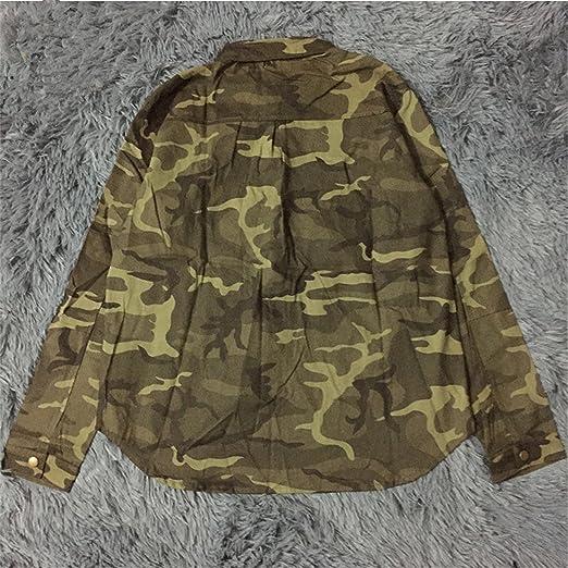 Amazon.com: Chopstick 2018 Fashion Long Sleeve Chaqueta Militar Coat Women Green Military Jackets Slim Embroidered Women Jacket Blouses Coats Army Green L: ...