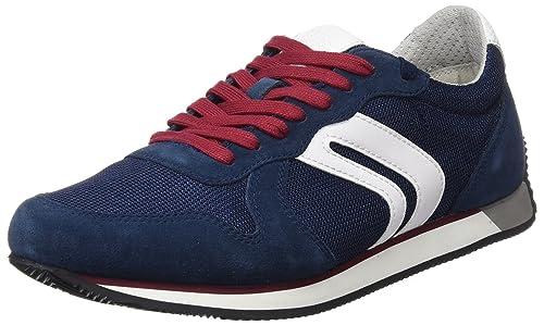 Geox Men's Vinto Trainers UK 8 Blue