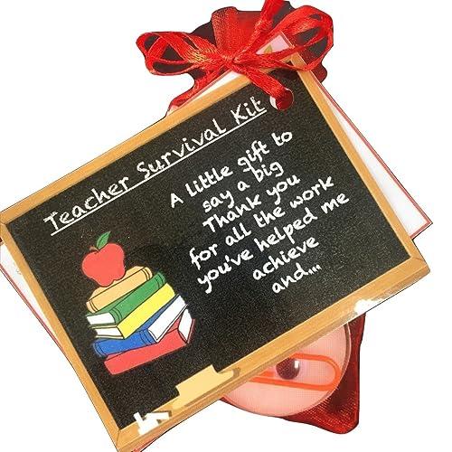Unique Novelty Survival Kit: Teachers Gifts: Amazon.co.uk