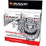 Booster de colecionador de Magic: The Gathering Adventures in Forgotten Realms   12 boosters (180 cards de Magic) - Em Inglês