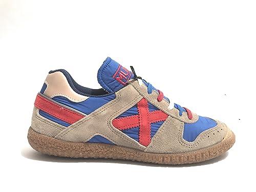 Sneakers GOAL in Pelle e Tessuto taglia 43