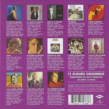 Relativ L'Intégrale des Albums Originaux 1963-1972: Claude François, les  VW52