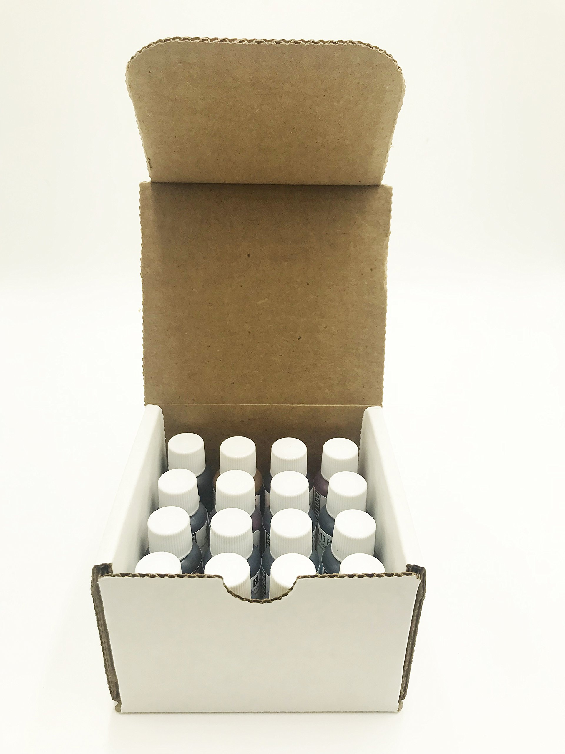 CANDLEWIC'S 16PK Highly Concentrated Liquid Candle Dyes by Candlewic