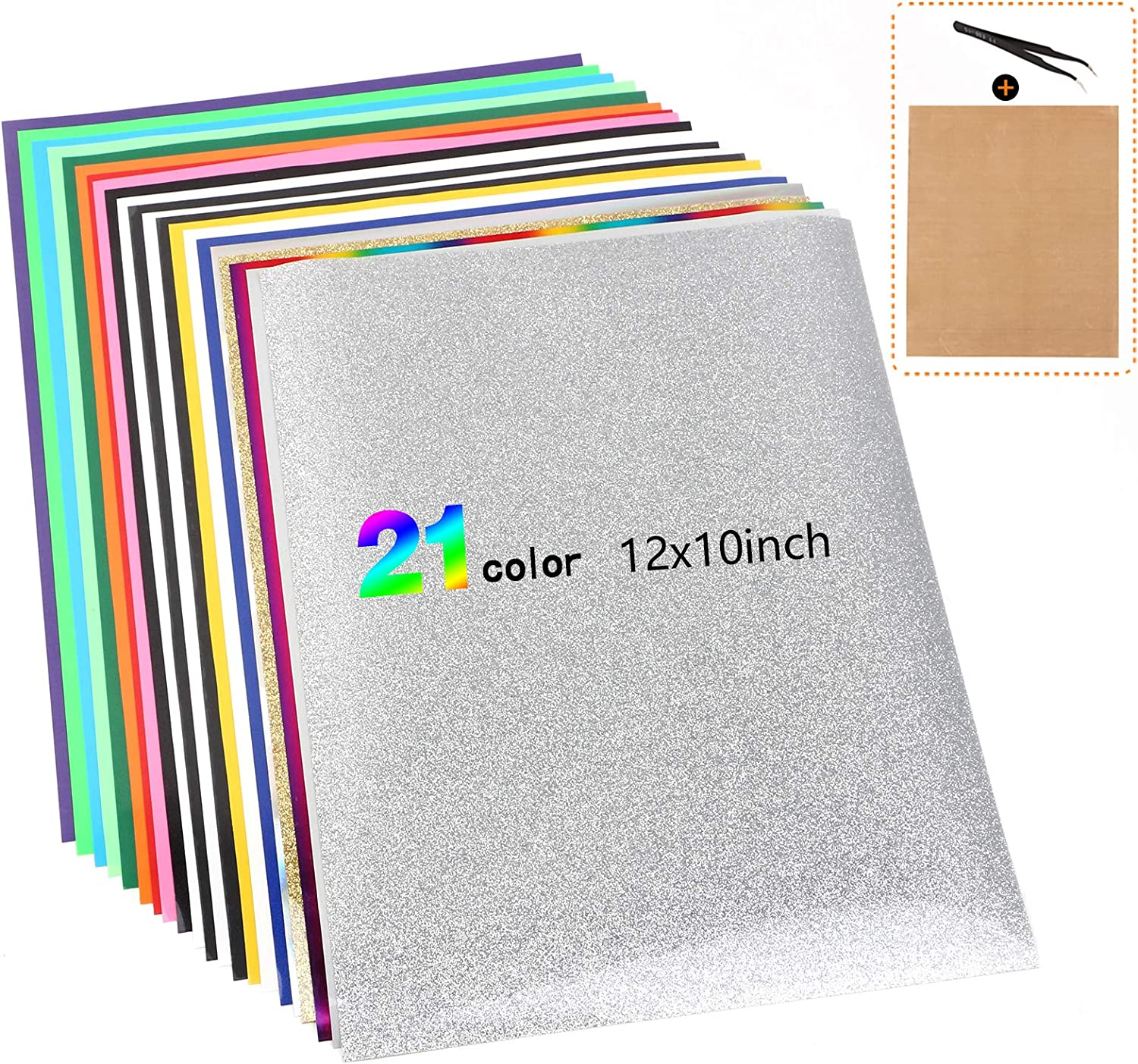Color Changing Heat Transfer Vinyl Sheets Paper Roll HTV Film Iron on Shirt
