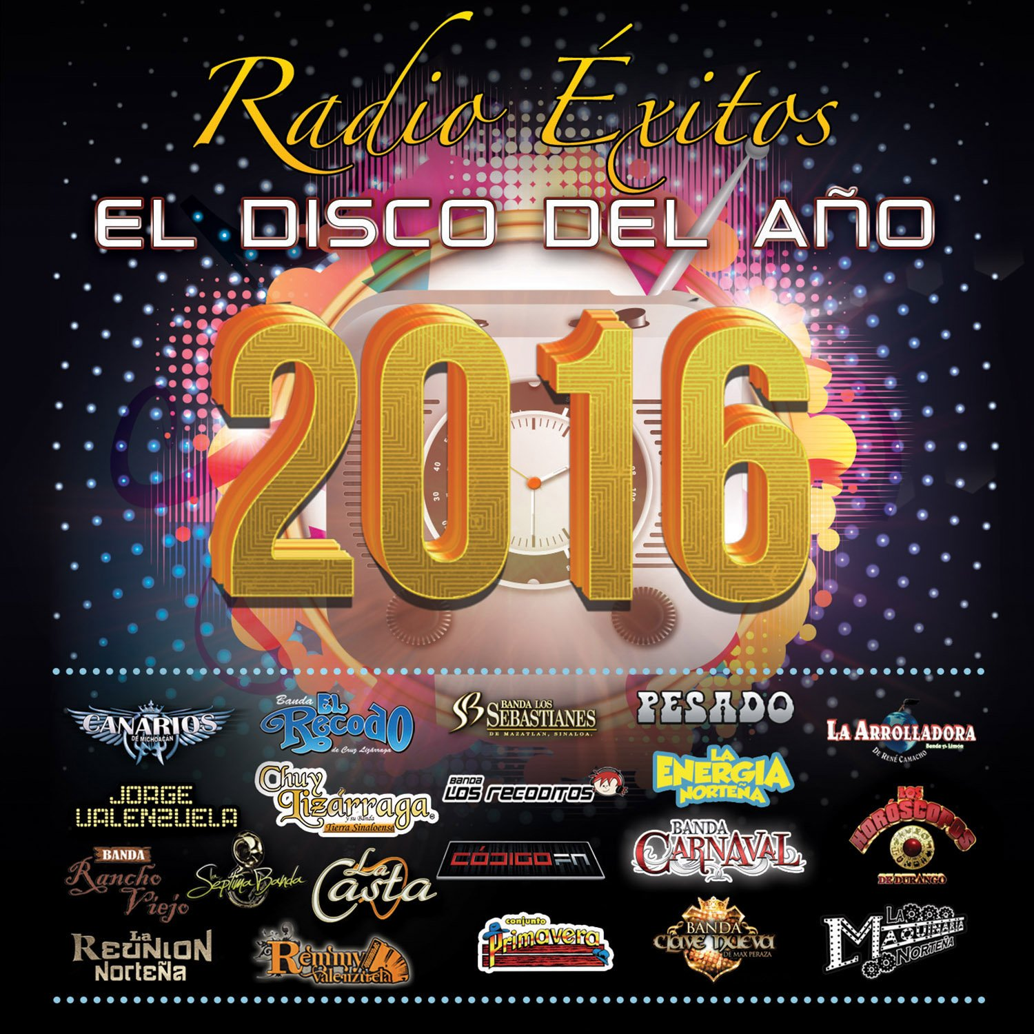 Radio Exitos El Disco Del Ano 2016 / Various (CD)