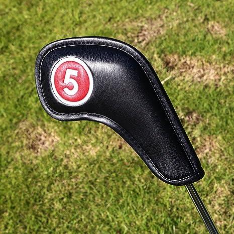 Artesano Golf Headcovers hierro 10 piezas cuello largo ...