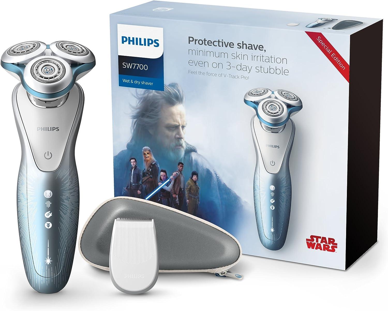 Philips Star Wars sw7700/67 Serie 7000 afeitadora eléctrica Wet & Dry Edición Especial lado claro: Amazon.es: Salud y cuidado personal