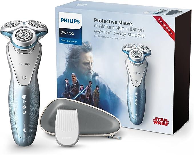Philips Star Wars sw7700/67 Serie 7000 afeitadora eléctrica Wet ...